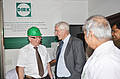 Peter Beckingham and Georg Dirk at the DIRK Nashik plant